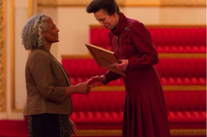 Mandy with Princess Anne